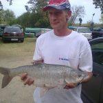 2012 09. 27. 3750 gr. MOHOSZ Szepezdfürdői Horgásztanyán fogott balin