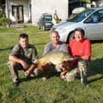 2011 09. 04. 10000 gr. MOHOSZ Szepezdfürdői Horgásztanyán fogott ponty
