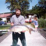 1999. 06. 06. 16250 gr. MOHOSZ Szepezdfürdői Horgásztanyán fogott ponty
