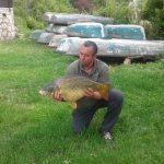 2014 05. 30. 10200 gr. MOHOSZ Szepezdfürdői Horgásztanyán fogott ponty
