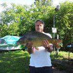 2013 07. 02. 6000 gr. MOHOSZ Szepezdfürdői Horgásztanyán fogott ponty