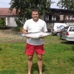 2014 05. 24. 5790 gr. 67 cm. MOHOSZ Szepezdfürdői Horgásztanyán fogott süllő