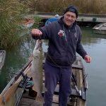 MOHOSZ Szepezdfürdői Horgásztanyán fogott csuka