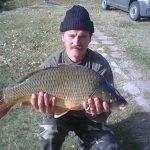 2012 09. 28 6950 gr. MOHOSZ Szepezdfürdői Horgásztanyán fogott ponty