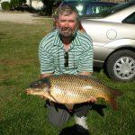 2013 09. 07. 9200 gr. MOHOSZ Szepezdfürdői Horgásztanyán fogott ponty