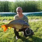 MOHOSZ Szepezdfürdői Horgásztanyán fogott ponty