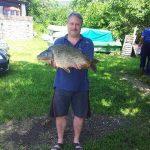 2013 06. 07. 5300 gr. MOHOSZ Szepezdfürdői Horgásztanyán fogott ponty