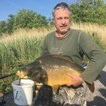 2018 05. 09. 12300 gr, 65 cm. MOHOSZ Szepezdfürdői Horgásztanyán fogott ponty